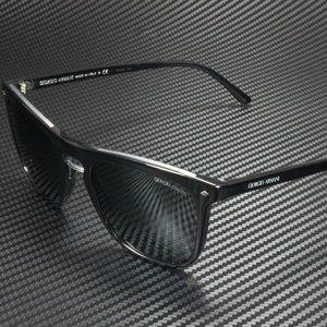 Giorgio Armani Men's Black and Blue Sunglasses!